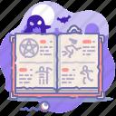 satan, dead, halloween, evil, book