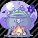 magic, witch, cauldron, halloween