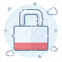 encryption, lock, private, security icon