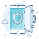 antivirus, mobile, safe, security icon