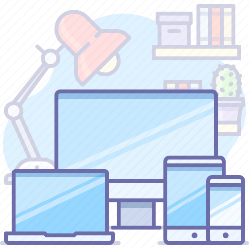 devices, laptop, mobile icon