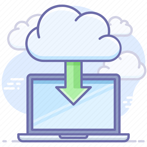 cloud, download, install icon