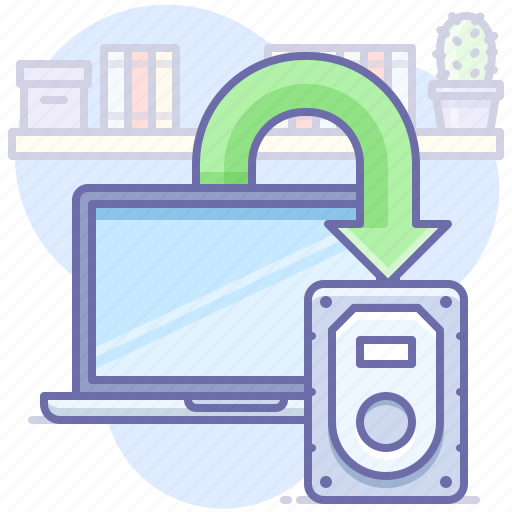 Backup, laptop icon - Download on Iconfinder on Iconfinder