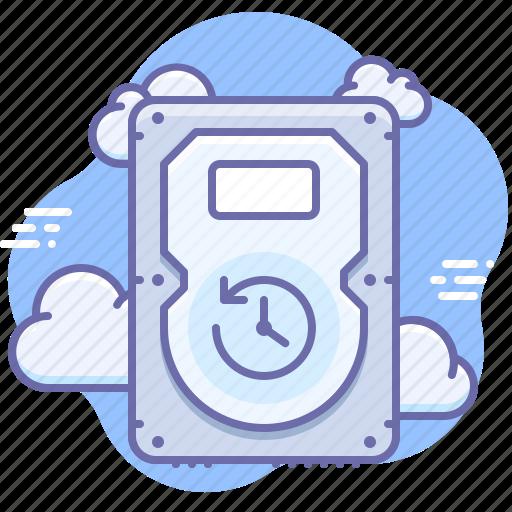 backup, cloud, safe icon