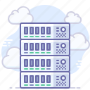 cloud, hosting, server icon