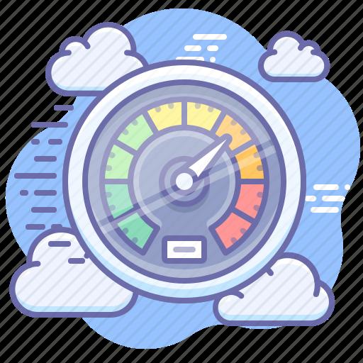 dashboard, speed, speedometer icon