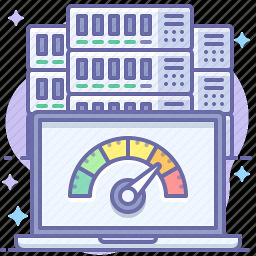 Laptop, speed, test icon - Download on Iconfinder