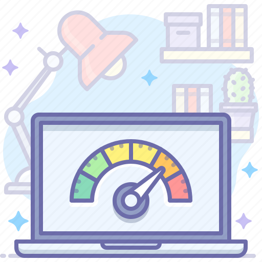 Laptop, performance, test icon - Download on Iconfinder