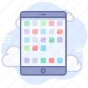 app, device, mobile icon