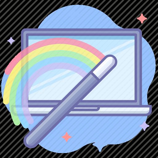 install, laptop, wizard icon