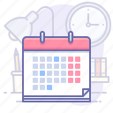 calendar, schedule, time icon