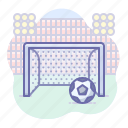 fifa, football, stadium icon