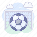 ball, football, goal icon