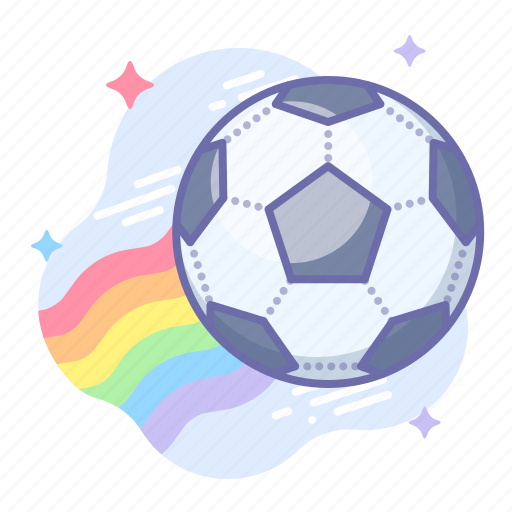 Ball, football, rainbow icon - Download on Iconfinder