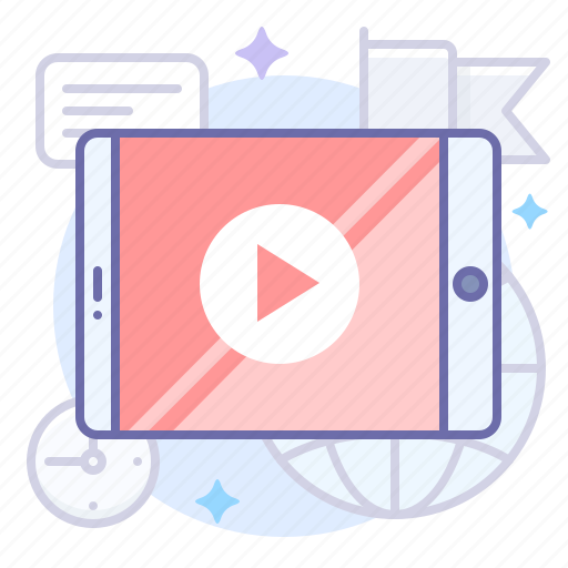 App, mobile, video icon - Download on Iconfinder