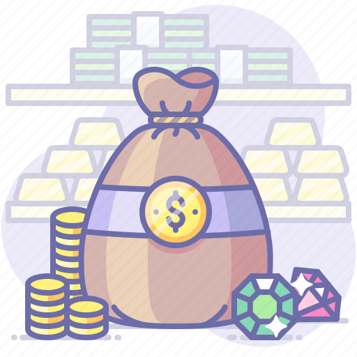 Bag, money, wealth icon - Download on Iconfinder