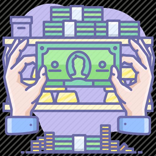 Cash, money, hand icon - Download on Iconfinder
