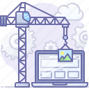construction, development, website icon
