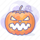 halloween, horror, jack, pumpkin icon