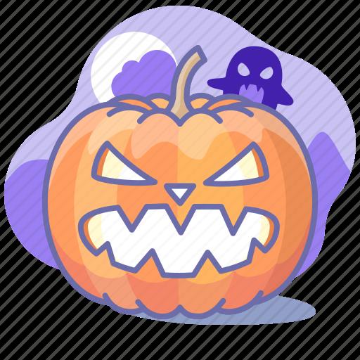 Halloween, horror, pumpkin icon - Download on Iconfinder