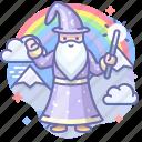 gandalf, magician, merlin, wizard icon