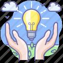 creative, electricity, idea, light