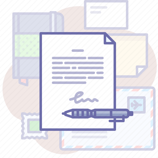 Agreement, document, pen icon - Download on Iconfinder