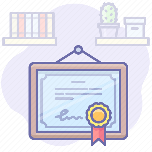 Certificate, diploma, license icon - Download on Iconfinder