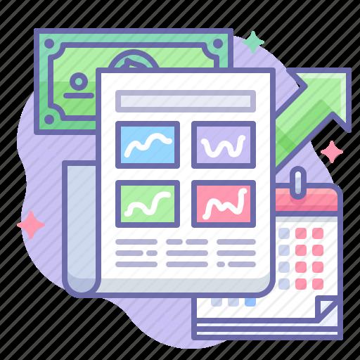 Business, finance, newspaper icon - Download on Iconfinder