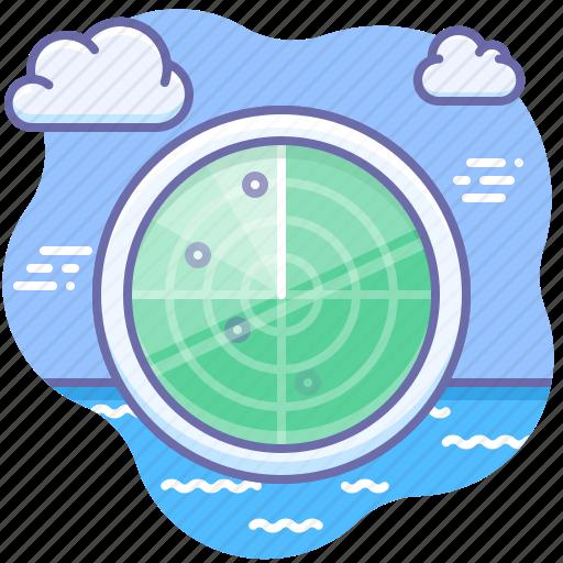 scan, security, sonar icon