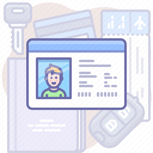 Card, driver, license icon - Download on Iconfinder
