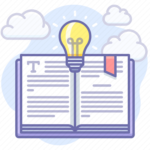 Book, bulb, idea icon - Download on Iconfinder on Iconfinder
