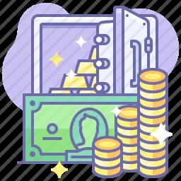 001 money cash gold wealth income safe finance 256 Вебинар: Декрет в интернет