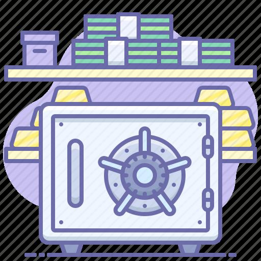 Bank, money, safe icon - Download on Iconfinder
