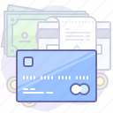 card, finance, money icon