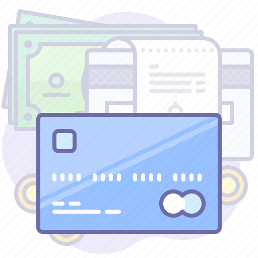 Card finance money pay payment shopping icon icon search engine - Shopping cash card paying spending ...