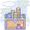 gold, money, treasure icon