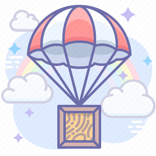 air, delivery, product icon