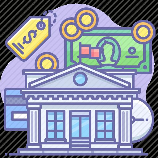Bank, finance, money icon - Download on Iconfinder