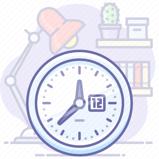 business, office, time icon