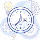 business, process, time icon
