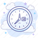 process, time, work icon