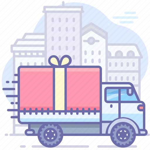 Delivery, gift, transport icon - Download on Iconfinder
