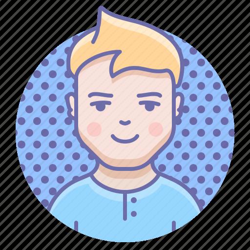 kid, man, person icon