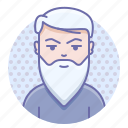 beard, man, wisdom icon