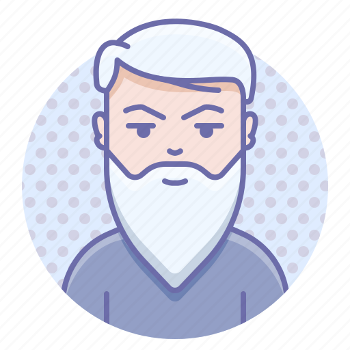 beard, man, wisdom icon