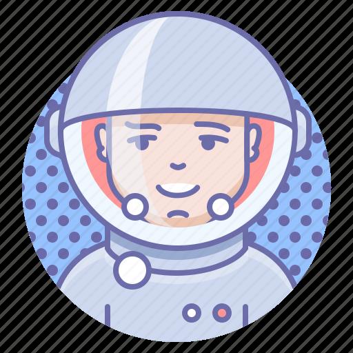 cosmonaut, person, space icon