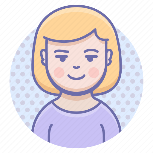 girl, user, woman icon