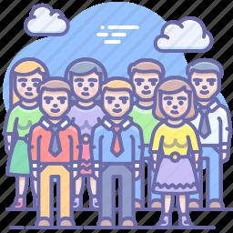 group, people, company