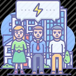 group, people, communication
